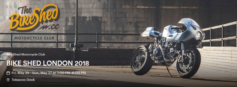 David's Bike Build & Bike Shed London 2018