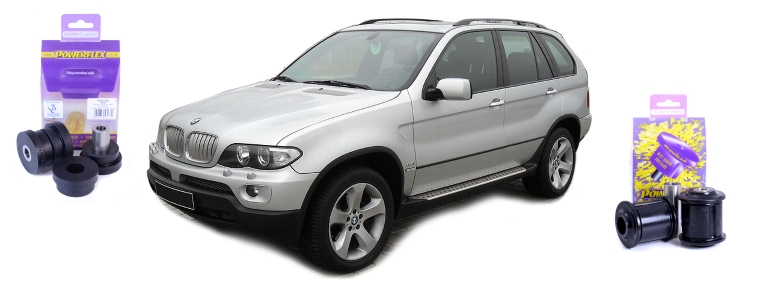 New parts for BMW X5 E53