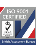 Accredited ISO9001 company