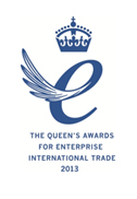The Queens Award for Enterprise & International Trade 2013