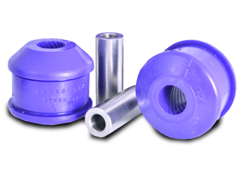 Replacement performance suspension bushes for road use