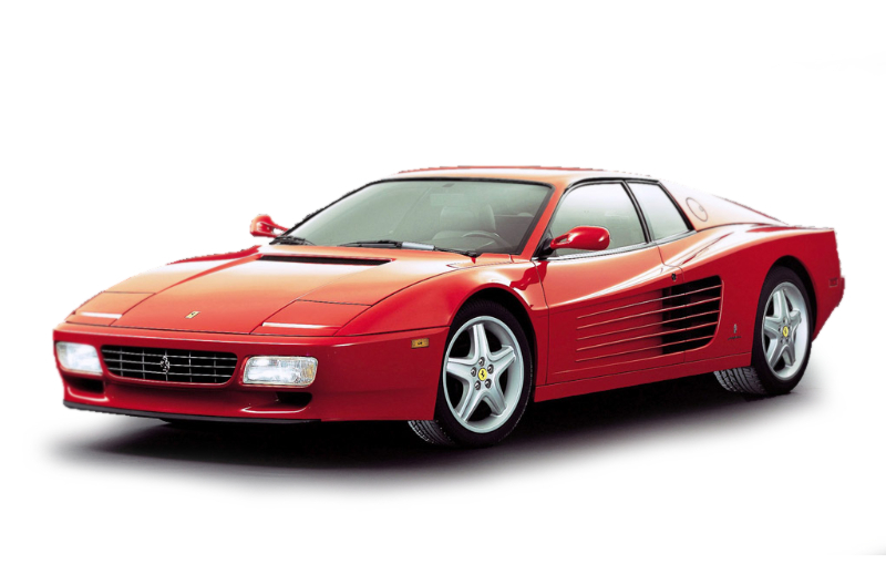 Testarossa, 512TR and 512M (1986 - 1994)