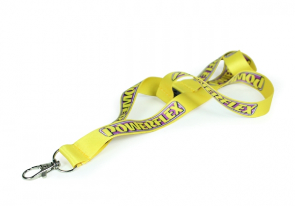 Powerflex Lanyard with Safety Clip